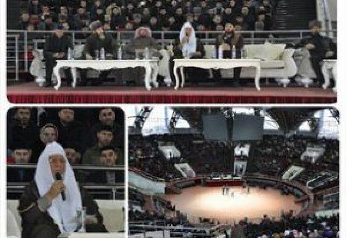 Известный богослов собрал в Грозном стадион