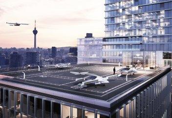 Испытан первый в мире аэромобиль с вертикальным взлетом (фото+видео)