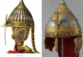 Откуда на шлеме Александра Невского аят Корана?