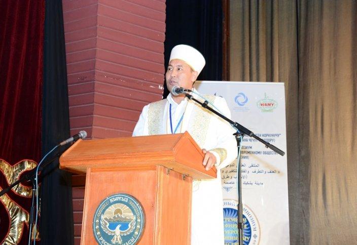 Бас мүфти – Қырғызстанда халықаралық симпозиумда (ФОТО)