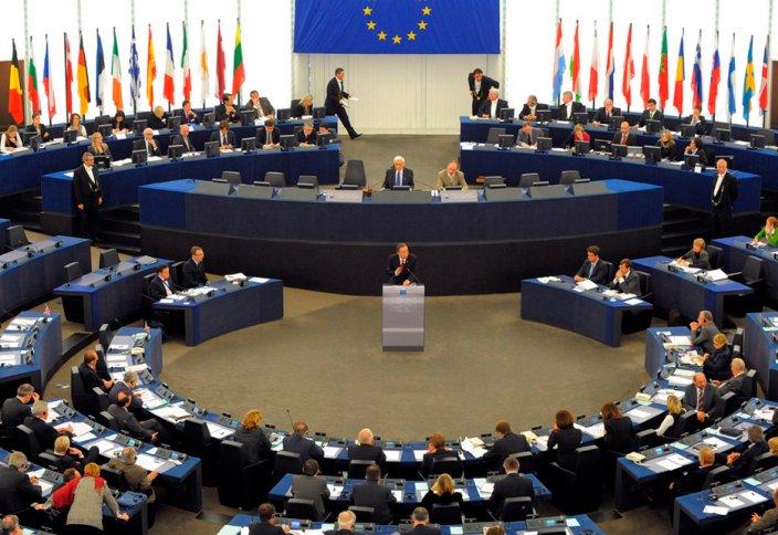 Еуропа парламентіне шариғат шәлісін жамылған тағы бір әйел келді