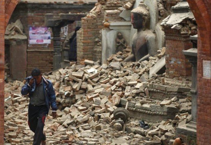 Землетрясение в Непале. 4 000 смертей!
