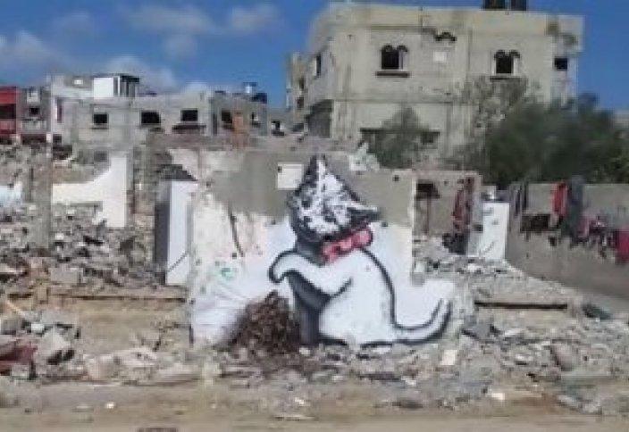 Разрушенные кварталы Палестины в красках художника