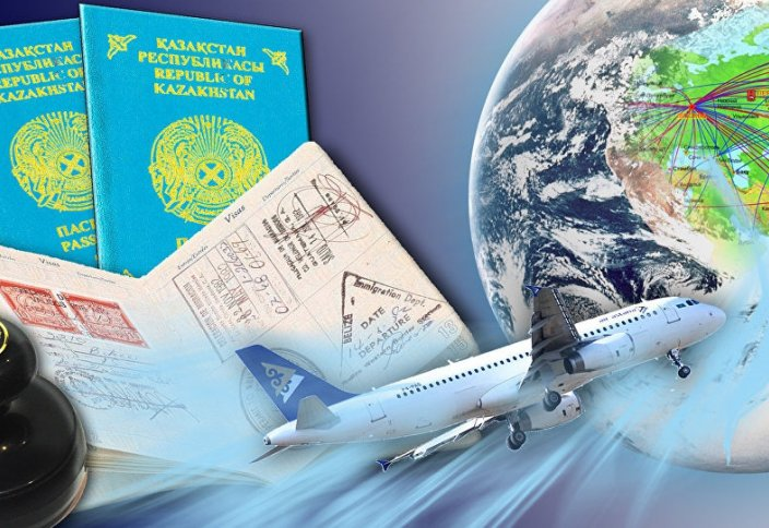 75 стран, которые казахстанцы могут посетить без визы