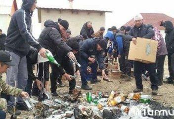 В селе запретили продавать и употреблять харам