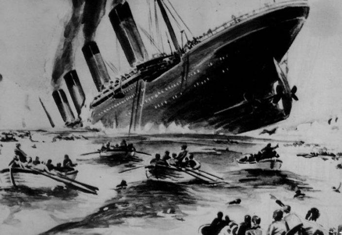 Алып Титаниктің ақыры