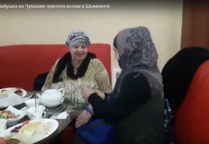 Как русская бабушка из Чувашии приняла ислам в Шымкенте