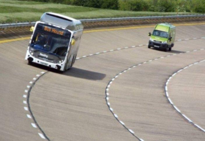 Тезектен жасалған отынмен жүретін автобус рекорд жаңартты