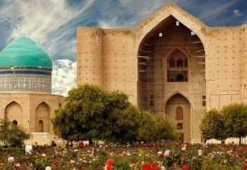 1,5 млн человек посетили мавзолей Ходжи Ахмеда Яссауи в 2019