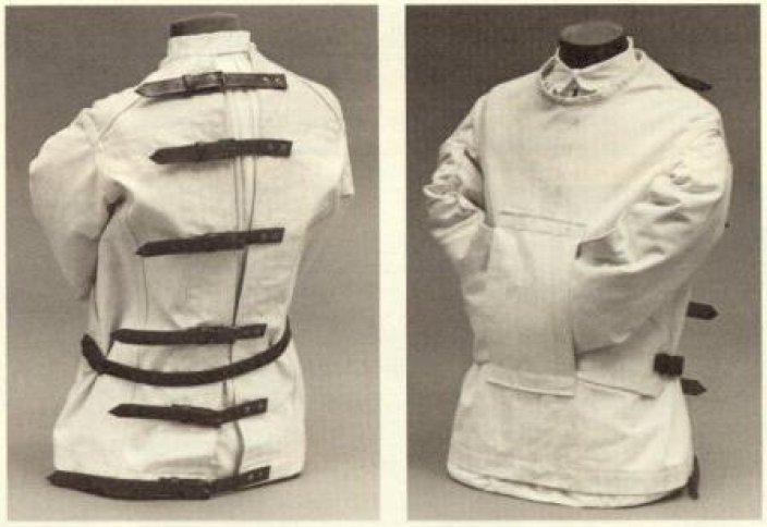 Как сделать смирительную рубашку