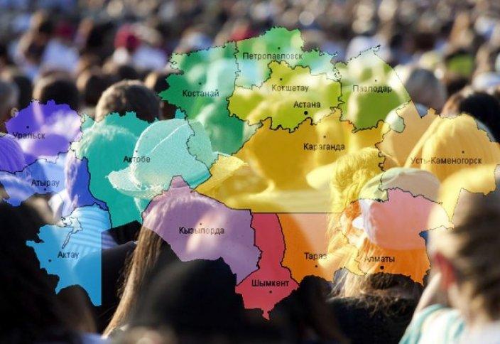 Казахстан: Численность населения стремительно растет