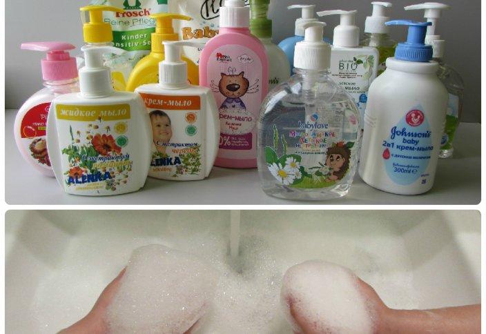 Простое мыло для волос своими руками