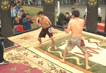 Видео нокаута монгольского бойца казахом набирает популярность в YouTube (видео)