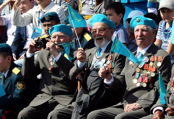 70-летие Победы отпраздновали в Астане