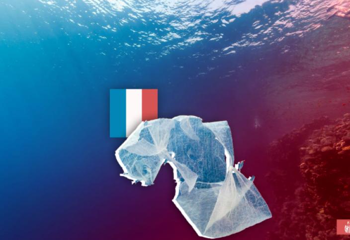 Франция — главный пластиковый загрязнитель Средиземного моря