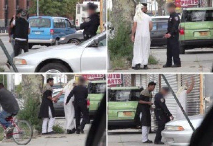 Пранкстеры хулиганят по делу, доказывая предвзятость полиции к мусульманам (видео)