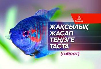 Жақсылық жасап теңізге таста (ғибрат)