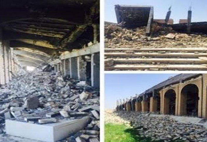 ИГИЛ уничтожили мавзолей Саддама Хусейна