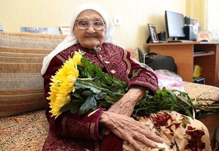 Ел жаңалықтары: 113 жастағы кейуана Қостанайда тұрады (фото)
