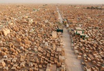 Долина мира – самое большое мусульманское кладбище в мире