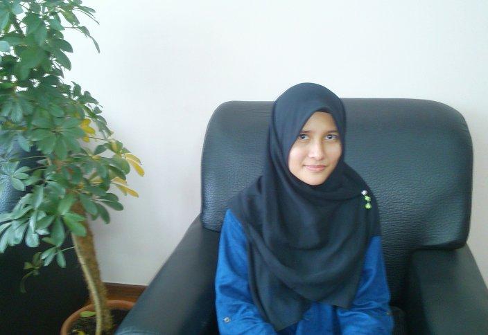 Малайзиялық Шакира «Нұр-Мүбәрак» университетінде оқуды армандайды