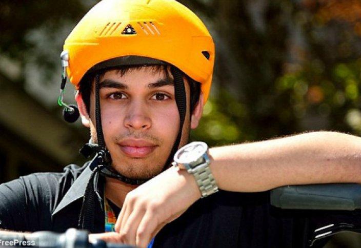Студенттер велошлемге арналған «қара жәшікті» ойлап тапты