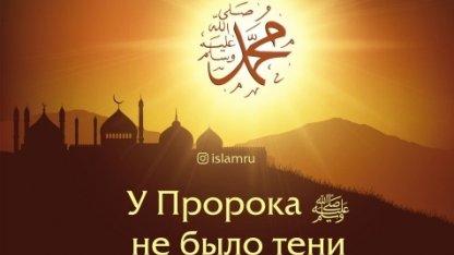 Почему у Пророка ﷺ не было тени?