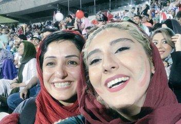 В Иране женщины впервые за 39 лет легально смотрели футбол на стадионе