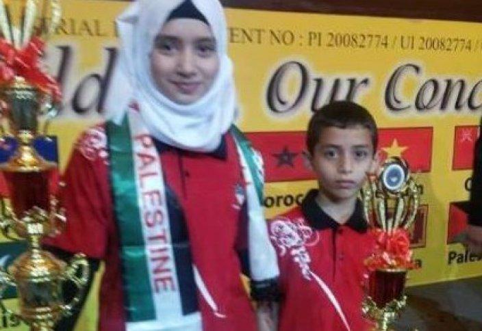 Палестиналық вундеркинд таң-тамаша қалдырды