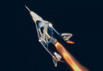 Virgin Galactic покажет кабину своего космического корабля через YouTube (видео)