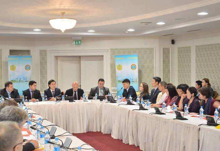 В акимате г. Астана прошло заседание экспертной группы в сфере религий
