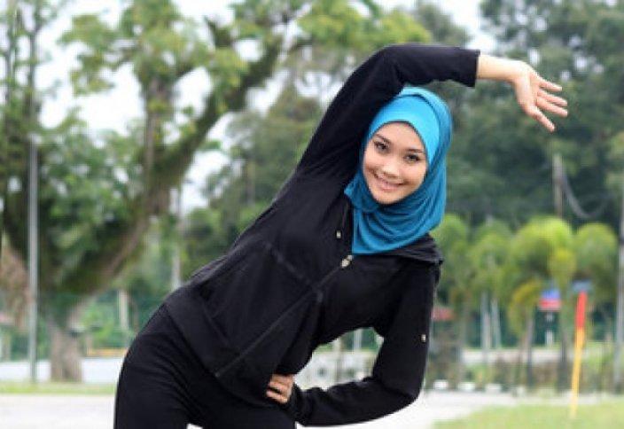 Фитнес по-мусульмански