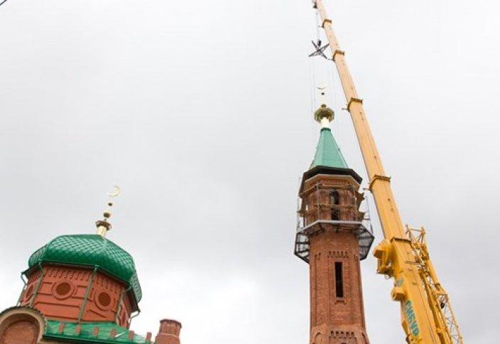 Реставрация Красной мечети в Томске подошла к концу