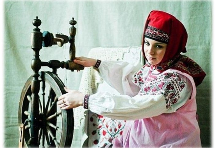 Женщины на Руси всегда носили хиджаб!