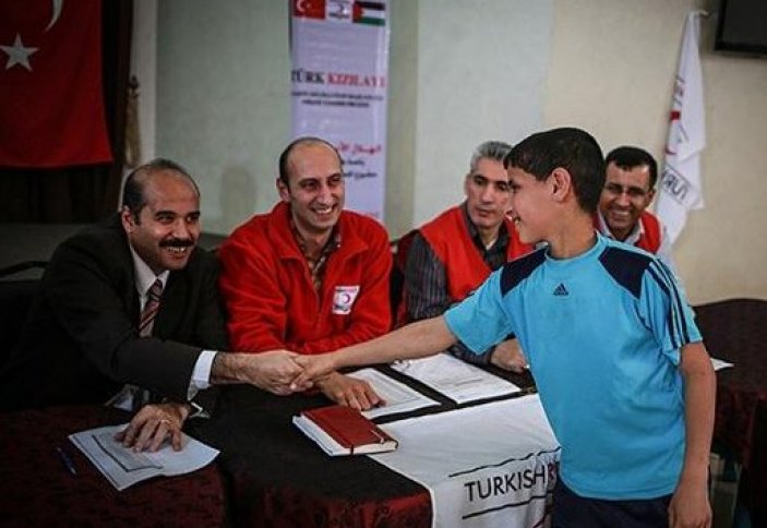 Финансирование сирот Газы Турцией