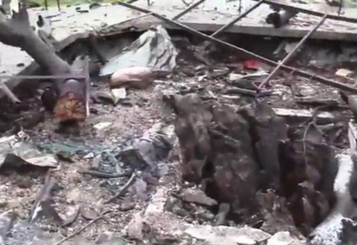 Имам Нәуауидің қабірін белгісіз топ жарып жіберді (видео)