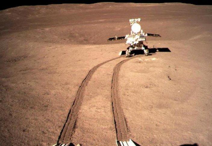 В сети появилось видео посадки китайского ровера на обратную сторону Луны