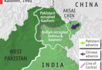 Қытай - Пәкістан - Үндістан үштігі